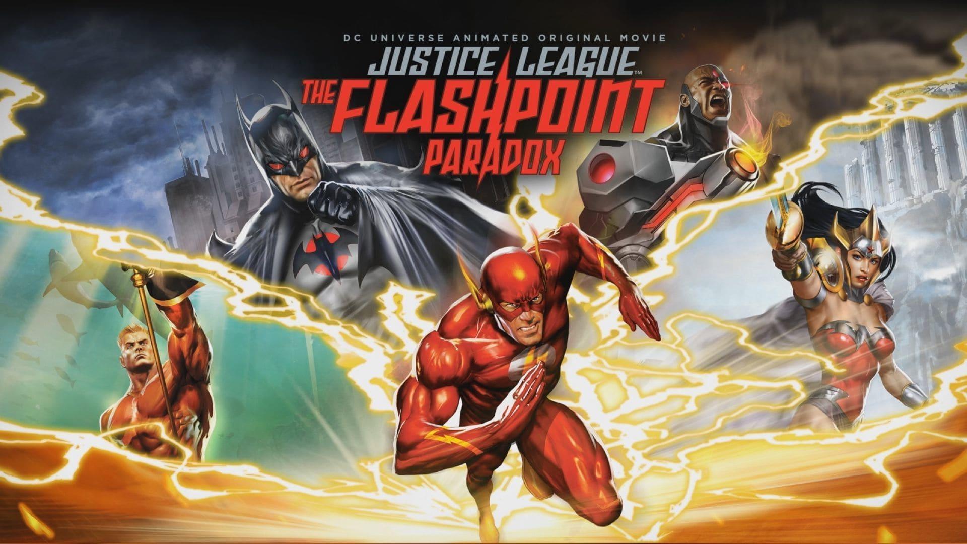 Regarder La Ligue des Justiciers : Le Paradoxe Flashpoint en streaming gratuit