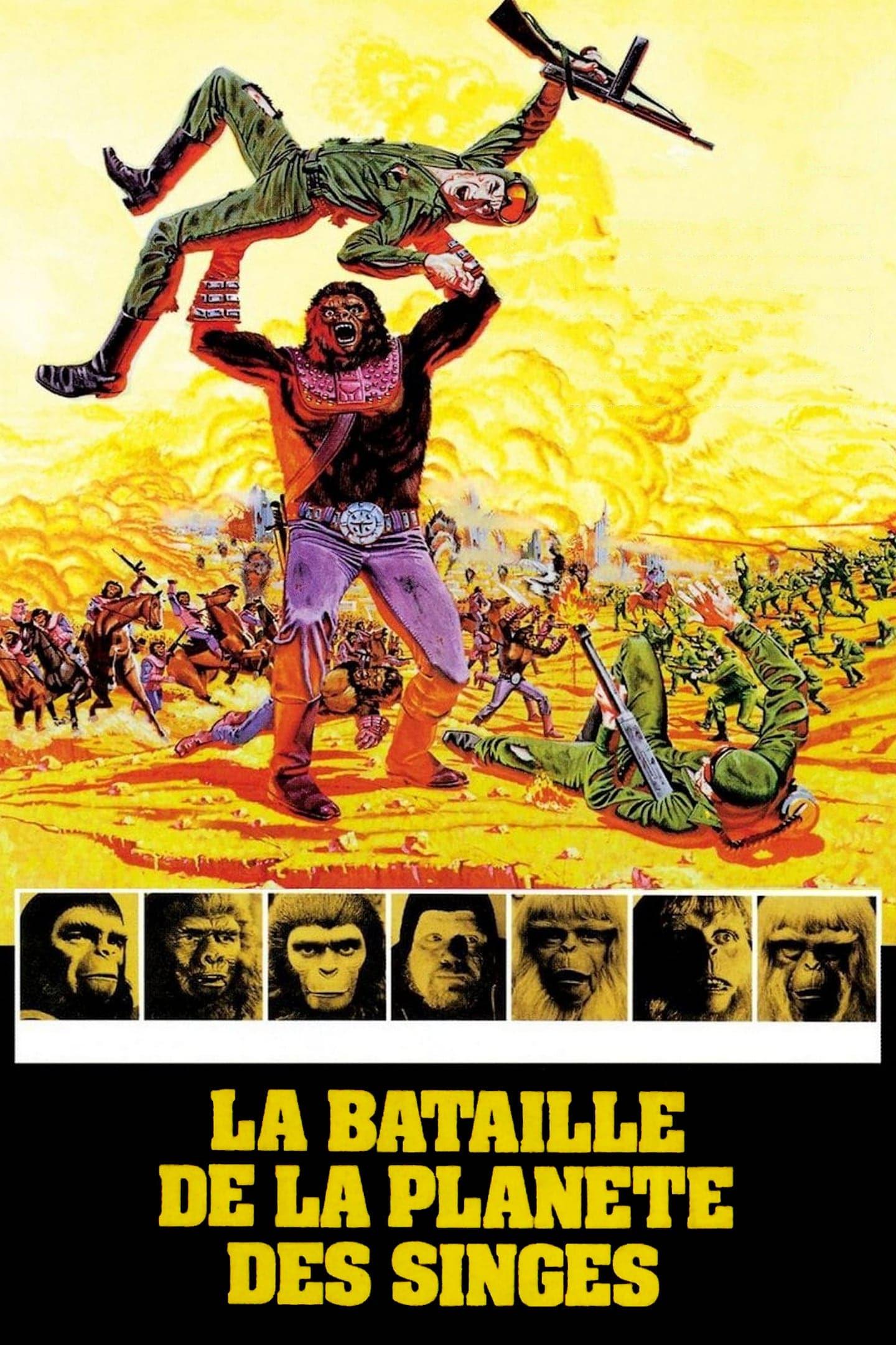 Regarder La bataille de la planète des singes en streaming gratuit