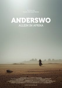 Anderswo. Allein in Afrika.