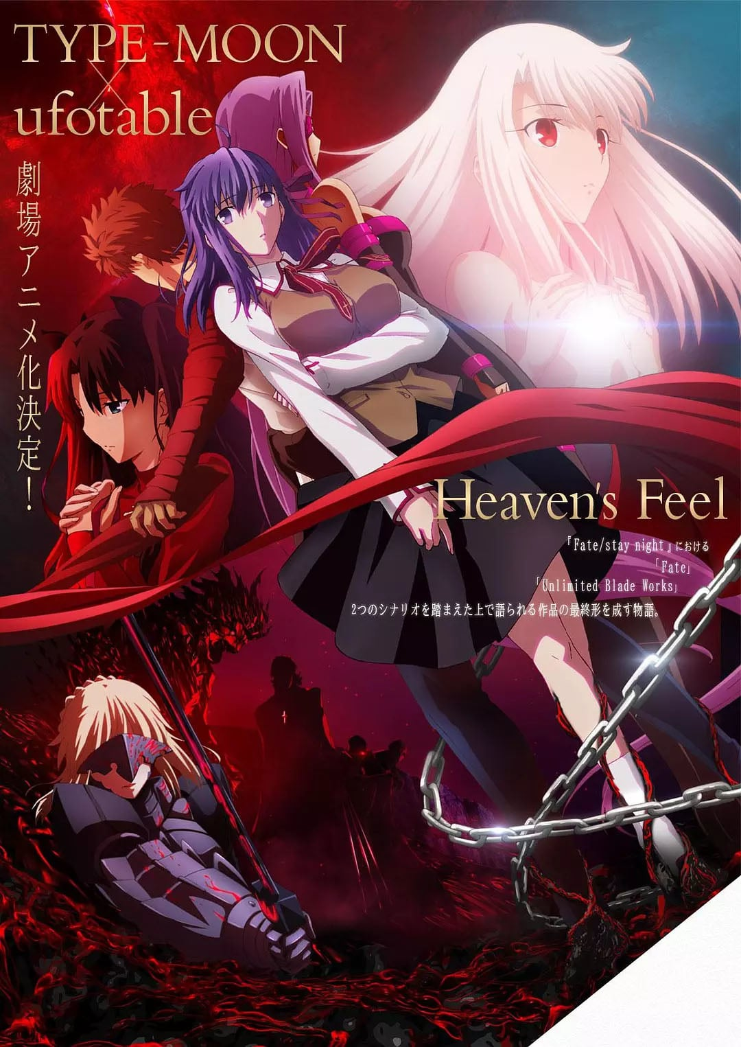 Fate/stay night : Heaven's Feel III. spring song - Film ...