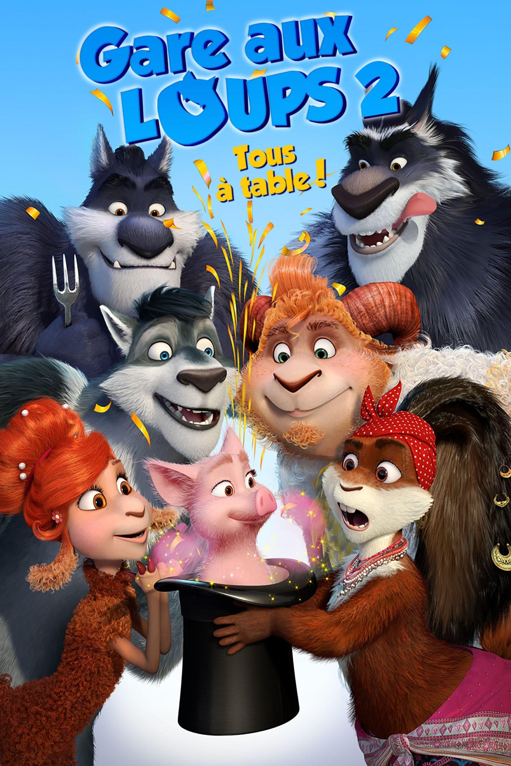 Gare aux loups 2: Tous à table!