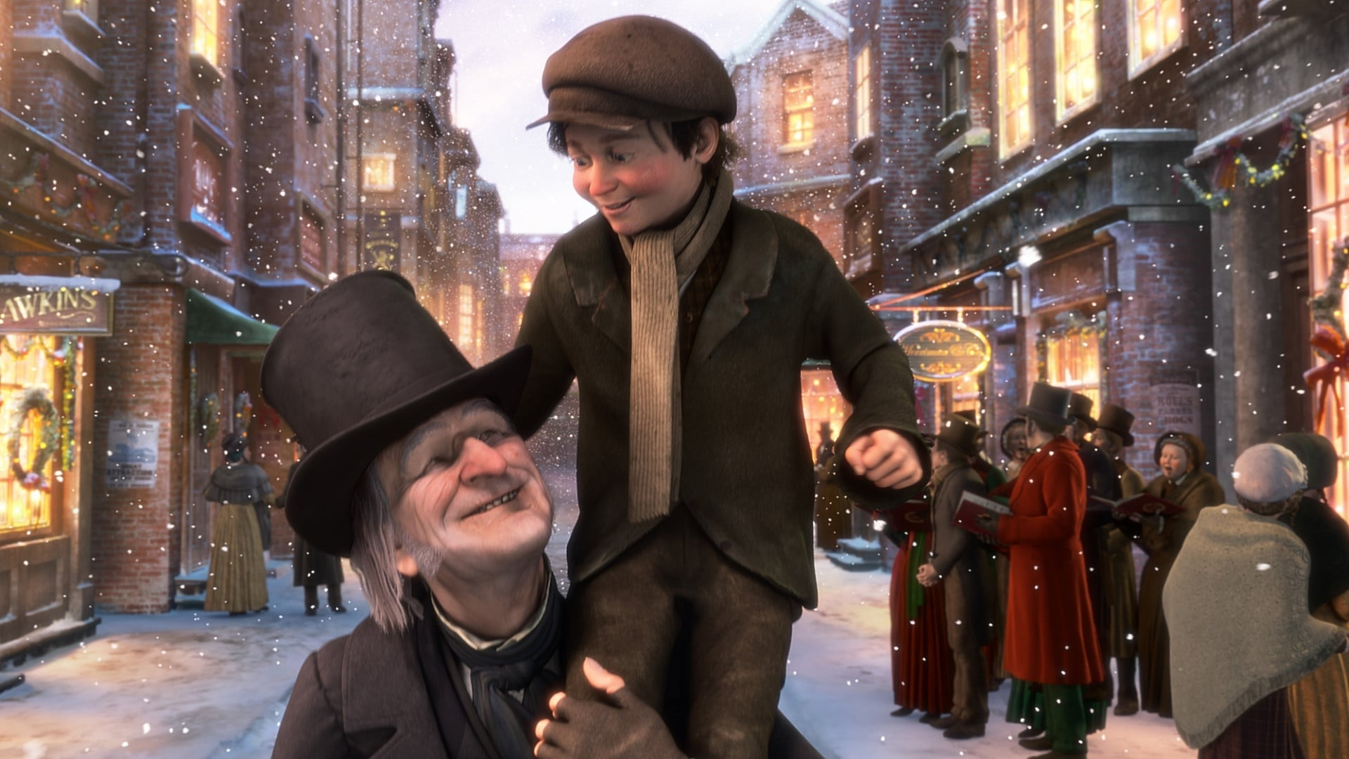Regarder Le drôle de Noël de Scrooge en streaming gratuit