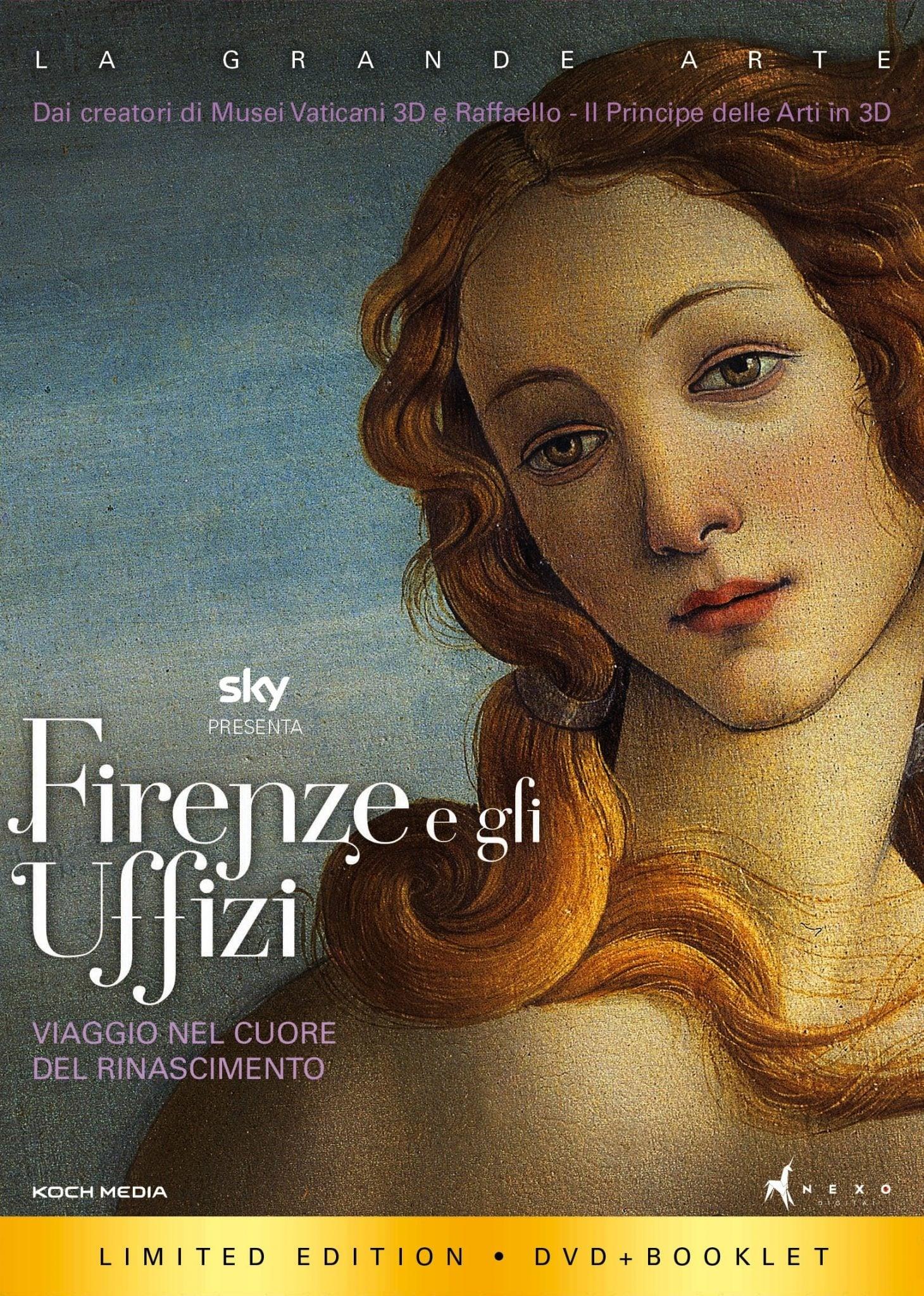 Florence et la Galerie des Offices 3D