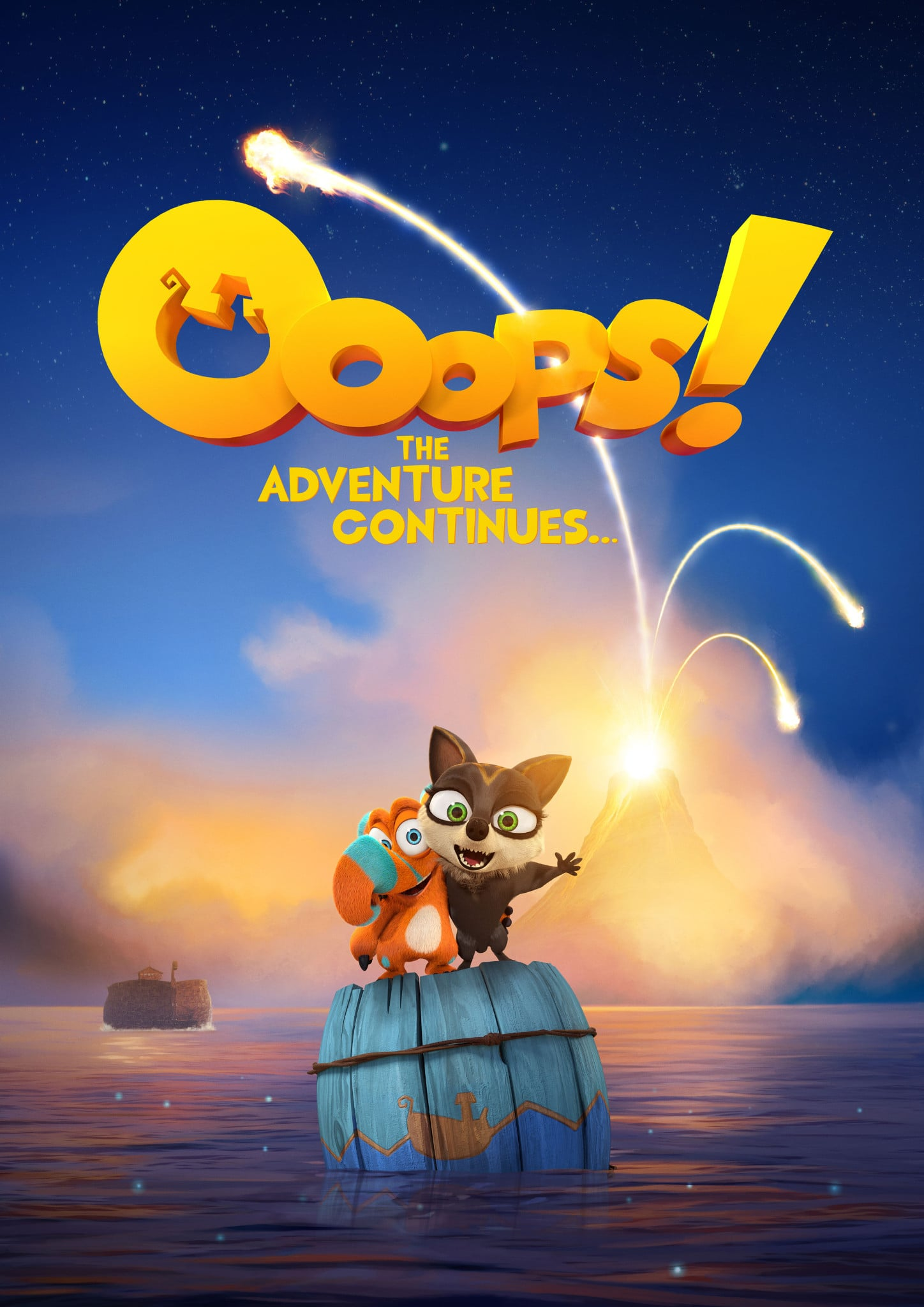 Regarder Ooops! The Adventure Continues… en streaming gratuit