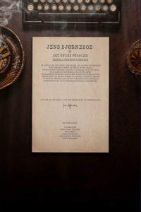 Jens Bjørneboe & det ondes problem